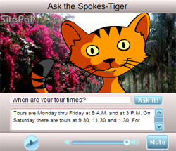 Ask the Cat Spokes Tiger