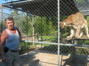 Dirk and Cougar at SW FL Rehab