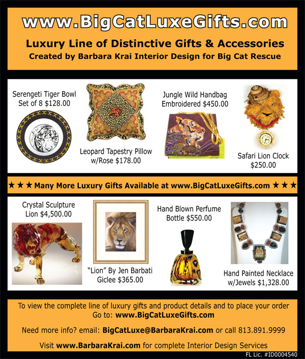 Big Cat Luxe Gifts