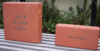 Donor Recognition Bricks