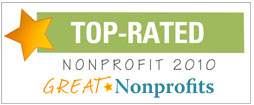 Great Nonprofits Top Rated 2010