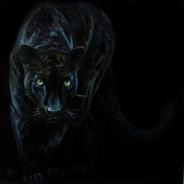 le louvre leopard