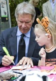 Harrison Ford w/HSUS Tiger Kids