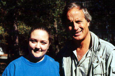 Jack Hanna and Jamie Veronica