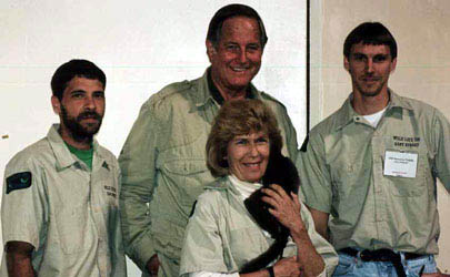 Jim Fowler at Big Cat Rescue