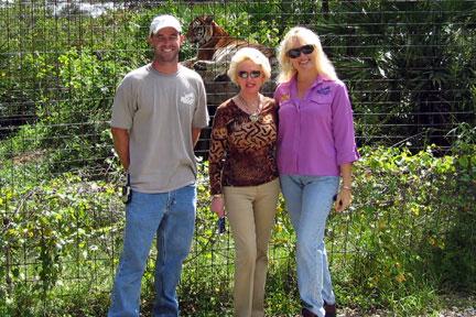 Tippi Hedren visits Big Cat Rescue