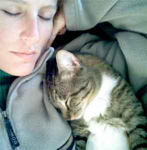 Nikki Benoit w/ Cat