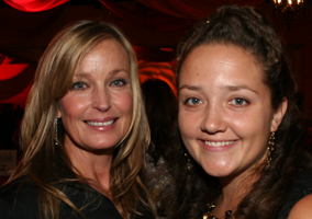 Bo Derek and Jamie Veronica