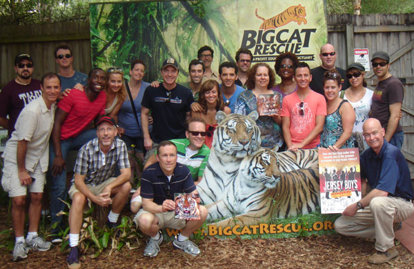 Jersey Boys Go Wild for Big Cat Rescue