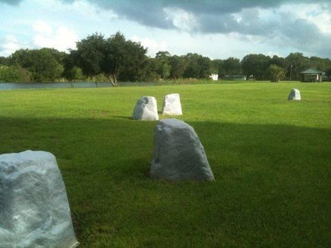 Big Cat Rescue's Version of Stonehenge