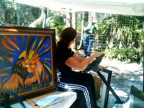 Artwork heading off to events we are doing to save the FL Panther