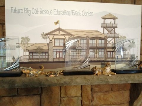 Draft of future expansion of Big Cat Rescue and some of our awards