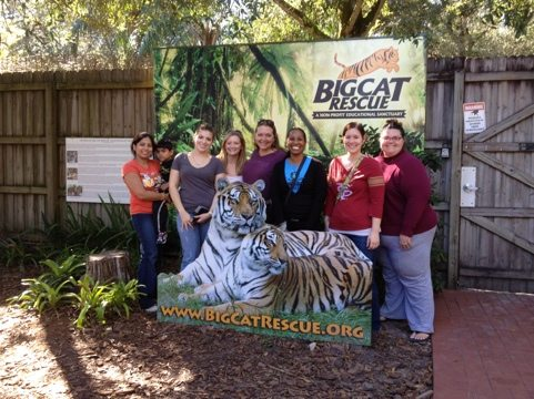 Carole gives private tour to Barry University Animal Law students