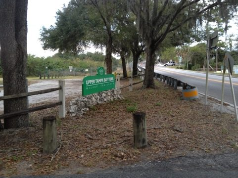 Several calls came in from people on the Upper Tampa Trail about a bobcat