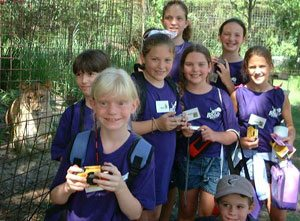 Work with kids at Big Cat Camp