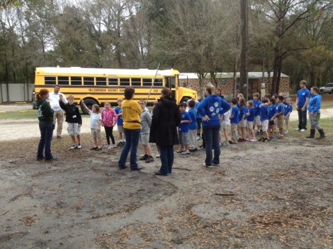 We have about 200 school field trips per year