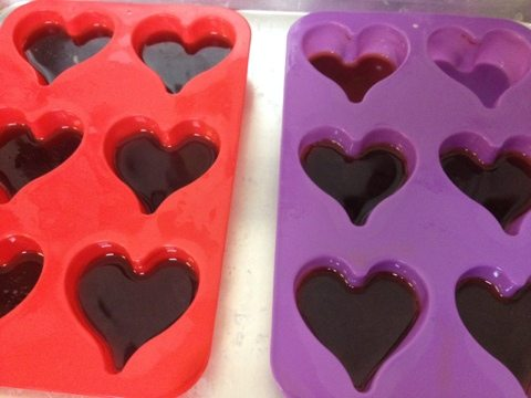 Willow found the purr-fect Valentine's Day molds for the cicles