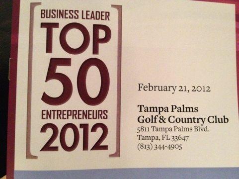 Howard Baskin named Business Leader's Top 50 Entrepreneurs 2012
