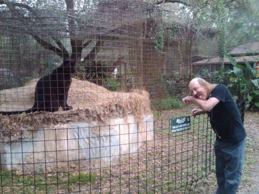 Gallagher the Comedian visits Big Cat Rescue