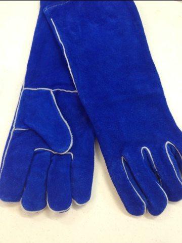 Welder's Gloves Make the Purr-fect Rehabber Gift