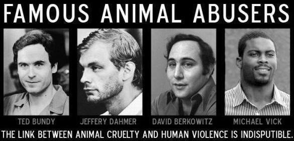 Animal Abusers Abuse People Too
