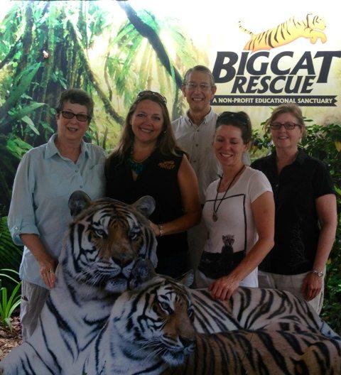 VIP Guests at Big Cat Rescue