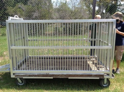 We need three like Elmira's fabulous aluminum transport wagon