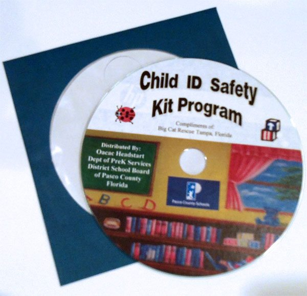 Big Cat Rescue Safety ID Kit