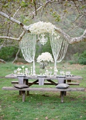 I saw this online and think it would be lovely for weddings here