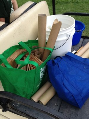 Tools for making enrichment for the cats of Big Cat Rescue