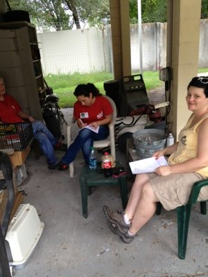 Volunteers take a LOT of classes to increase their expertise at BCR