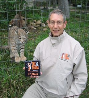 Today at Big Cat Rescue Sept 29 Tee Up For Tigers