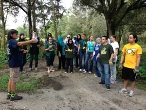 USF Ghandi Day of Volunteerism at Big Cat Rescue