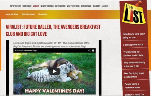 Big Cat Rescue on The List