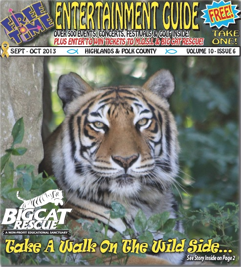 Free Time Entertainment Guide Tiger Cover
