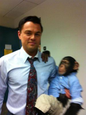 Leonardo-DiCaprio-Chimp