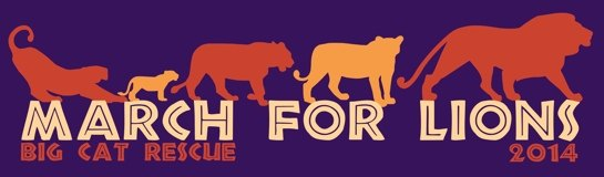 March For Lions Tee Shirt
