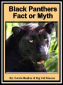 FREE BOOK about black leopards and panthers