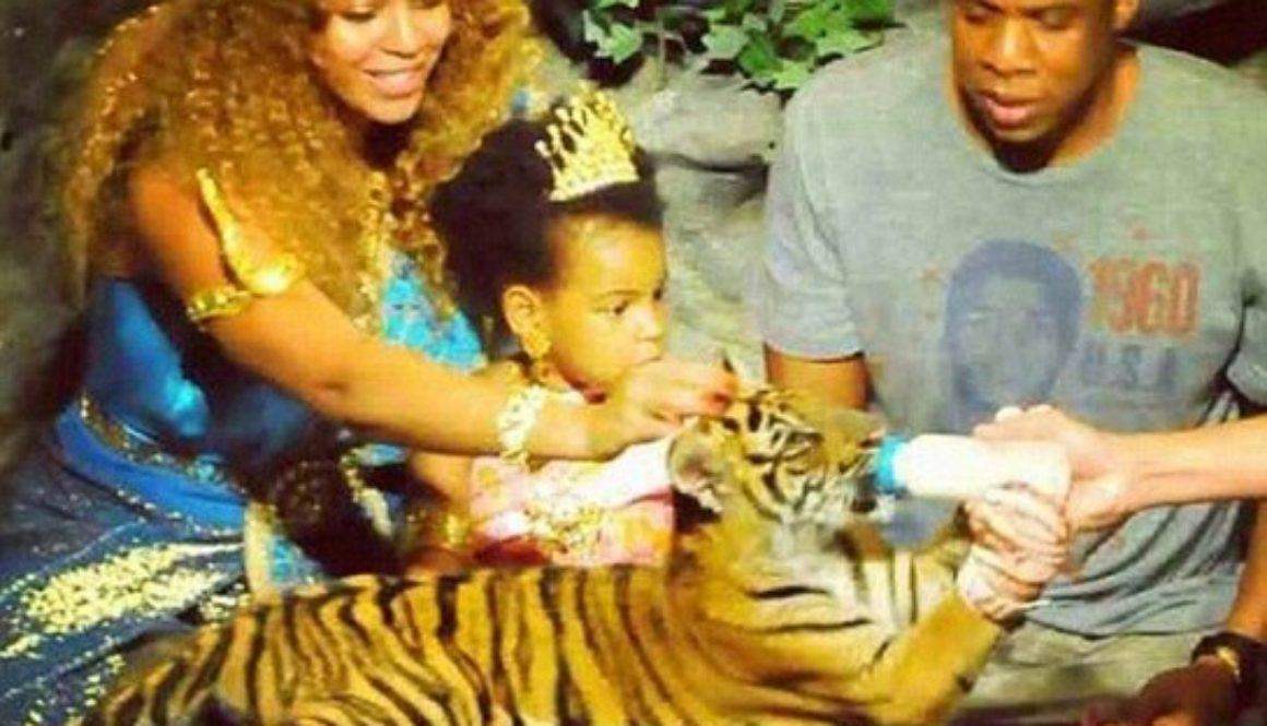 Beyonce tiger cub
