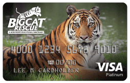 Big Cat Rescue Credit Card