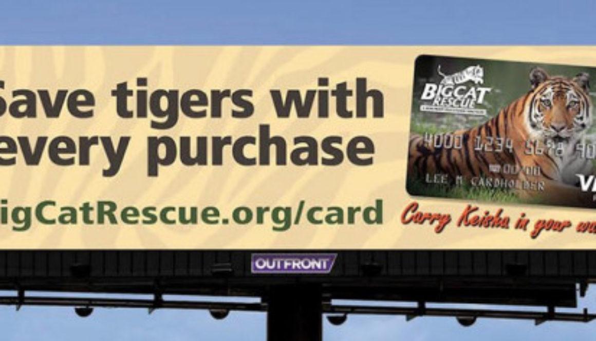 Billboard Keisha Credit Card