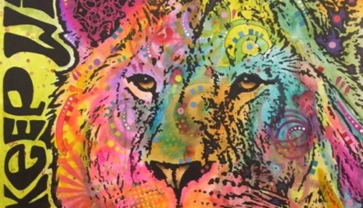 Cecil Lion Dean Russo Art