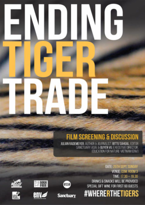 Ending Tiger Trade poster