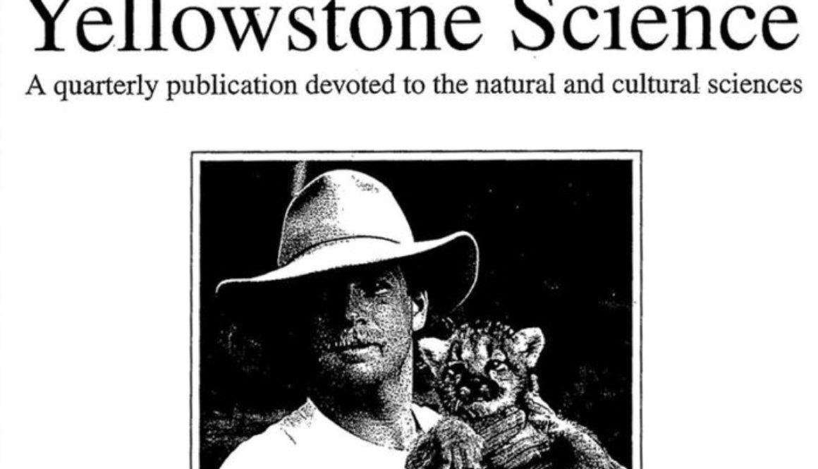 gregory felzien yellowstone science