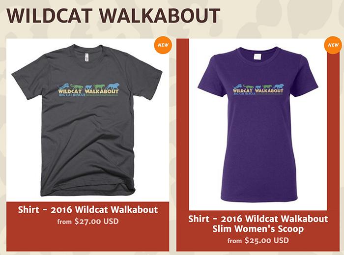 sale tee wildcat walkabout