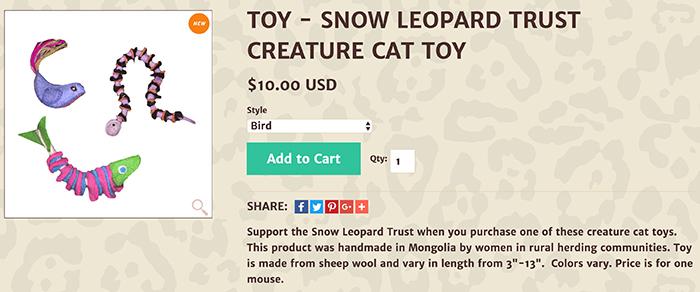 sale-snow leopard trust toys