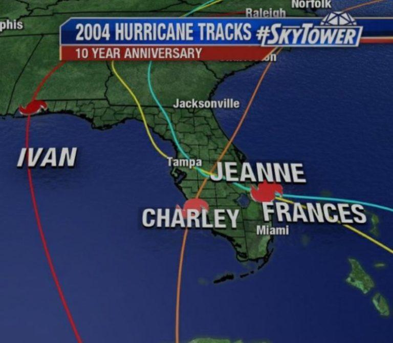 2004 Hurricanes Florida