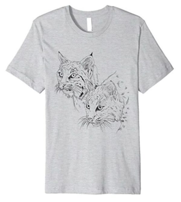 Tee Bobcats Running Bear & Little White Dove