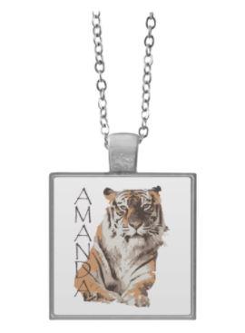 Amanda Tiger Necklace