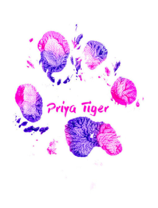 Priya Tiger Paw Print